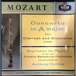 Mozart , Gervase de Peye ,   L.S.O. - Concerto In A Major For Clarinet - 10