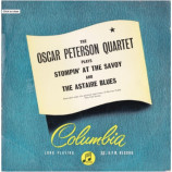 Oscar Peterson Quartet - Stompin' At The Savoy / Astaire Blues - 10