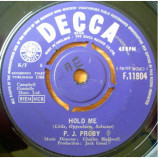 P.J. Proby - Hold Me - 7