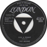 Pat Boone - For A Penny - 7