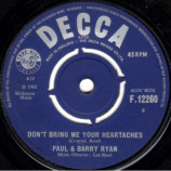 Paul & Barry Ryan - Don't Bring Me Your Heartaches - 7
