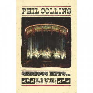 Phil Collins - Serious Hits...Live! - Cassette - Tape - Cassete