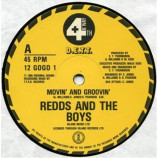 Redds And The Boys - Movin' & Groovin' - 12