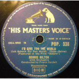 Ronnie Hilton - I'd Give You The World/ Around The World - 10