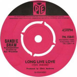 Sandie Shaw - Long Live Love - 7