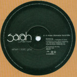 SARAH WHATMORE - WHEN I LOST YOU (REMIXES) - 12