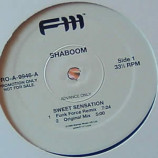 SHABOOM - SWEET SENSATION (FUNK FORCE MIXES) - 12
