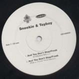 SNEEKIE & TOYBOY - AND YOU DON'T STOP / FREAK - 12