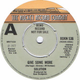Solution - Give Some More - 7