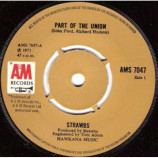 Strawbs - Part Of The Union / Will You Go - 7