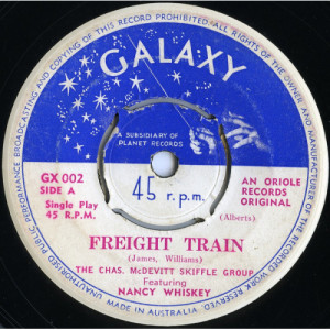 The Chas. McDevitt Skiffle Group - Freight Train / The Cotton Song - 7