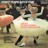 The International Dance Orchestra - Strict Tempo Dance Time - LP