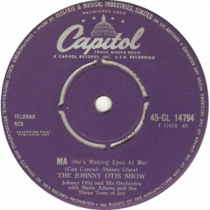 The Johnny Otis Show - Ma (He's Makin' Eyes At Me) - 7