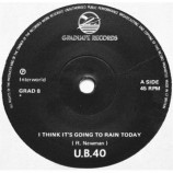 UB40 - I Its Going To Rain Today / My Way Of Thinking - 7