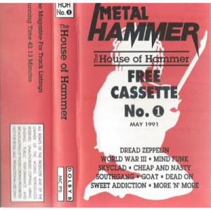 Various - The House Of Hammer No.1 - Cassette - Tape - Cassete