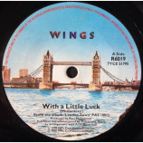 Wings - With A Little Luck - 7
