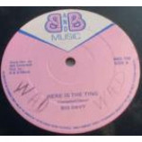 Big Davy - Here Is The Ting - Vinyl 12 Inch