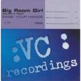 Big Room Girl & Darryl Pandy - Raise Your Hands - Vinyl 12 Inch