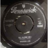 Brenda Lee - All Alone Am I / Save All Your Lovin' For Me - Vinyl 7 Inch