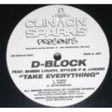 Clinton Sparks & D-Block - Exclusive Limited Edition 12' - Vinyl 12 Inch