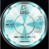 Commodores - Three Times A Lady - Vinyl 7 Inch