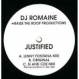 DJ Romaine - Justified - Vinyl 10 Inch