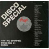 Enigma - Ain't No Stopping Disco Mix '81 - Vinyl 12 Inch