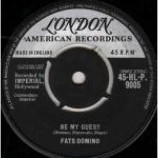 Fats Domino - Be My Guest / I've Been Around - Vinyl 7 Inch