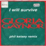 Gloria Gaynor - I Will Survive (Phil Kelsey Rmx) - Vinyl 7 Inch