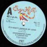 Grandmaster Flash & The Furious Five - It's Nasty (Genius Of Love) / The Birthday Party - Vinyl 12 Inch