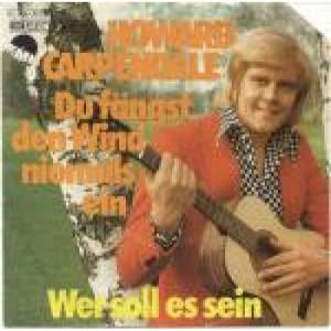 """Howard Carpendale - Du Fängst Den Wind Niemals Ein - Vinyl 7 Inch - Vinyl - 7"""""""