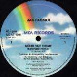 Jan Hammer - Miami Vice Theme - Vinyl 12 Inch