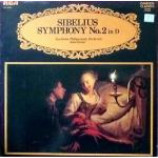 Jean Sibelius & Stockholms Filharmoniska Orkester & Antal Dorati - Symphony No. 2 in D - Vinyl Album