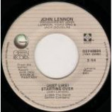 John Lennon & Yoko Ono - (Just Like) Starting Over / Kiss Kiss Kiss - Vinyl 7 Inch