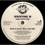 Kristine W - One More Try - Vinyl Triple 12 Inch