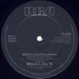 Manic MC's & Sara Carlson - Mental (Remix) - Vinyl 12 Inch