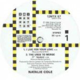 Natalie Cole - I Live For Your Love - Vinyl 12 Inch