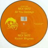 Nick Skitz - All You Deejays / Rockin' Rhymes - Vinyl 12 Inch Picture Disc