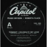 Peabo Bryson - Tonight I Celebrate My Love - Vinyl 12 Inch