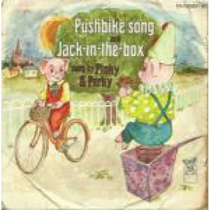 Pinky & Perky & Sid Hadden & His Orchestra - Pushbike Song And Jack-In-The-Box - Vinyl 7 Inch - Vinyl - 7""