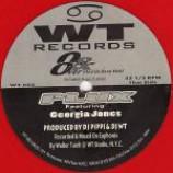 Plux & Georgia Jones - Over & Over / Fantasy - Coloured Vinyl 12 Inch