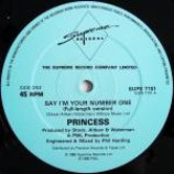 Princess - Say I'm Your No. 1 - Vinyl 12 Inch