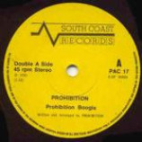 Prohibition - Prohibition Boogie / Swinging Perfidia - Vinyl 7 Inch