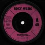 Roxy Music - Dance Away - Vinyl 7 Inch