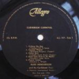 Russ Henderson And His Caribbean Boys - Caribbean Carnival-(Generic Sleeve) - Vinyl Album