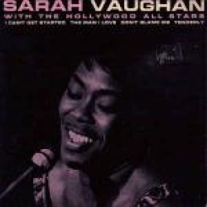 """Sarah Vaughan & The Hollywood All Stars - I Can't Get Started / The Man I Love / Tenderly / Don't Blame Me - Vinyl 7 Inch - Vinyl - 7"""""""