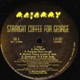 Straight Coffee For George - Straight Coffee For George - Vinyl Album