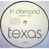 Texas - In Demand - Vinyl Double 12 Inch