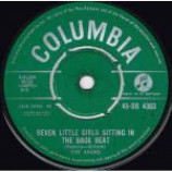 The Avons - Seven Little Girls Sitting In The Back Seat - Vinyl 7 Inch