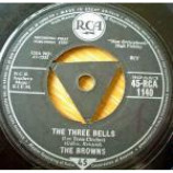 The Browns - The Three Bells / Heaven Fell Last Night - Vinyl 7 Inch